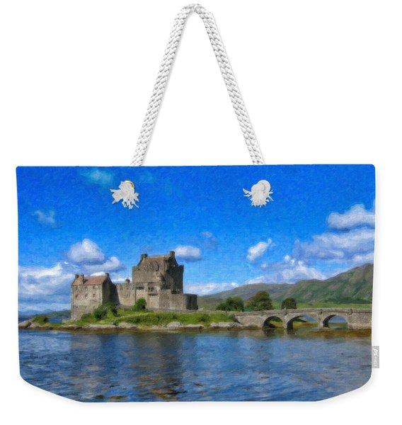Eilean Donan Castle - Sct671252 Weekender Tote Bag
