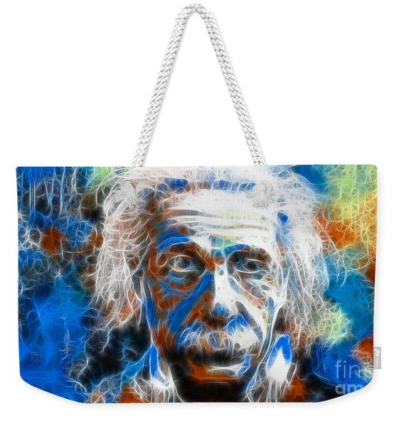 Einstein - E-mc2 Weekender Tote Bag