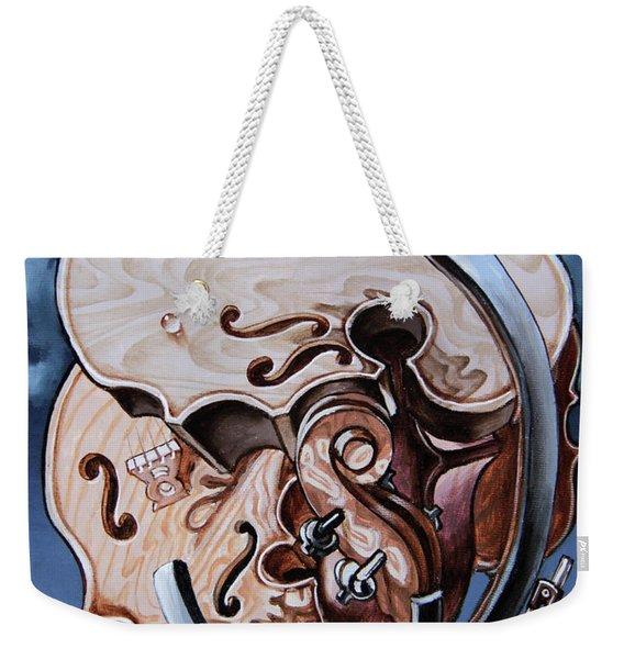 Einstein's Violin. Op.2763 Weekender Tote Bag