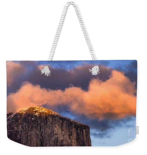 El Cap Glow Weekender Tote Bag