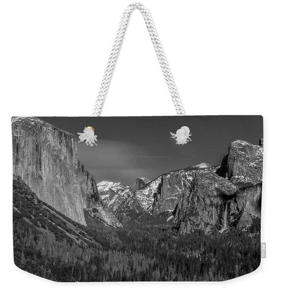 El Capitan And Half Dome Weekender Tote Bag