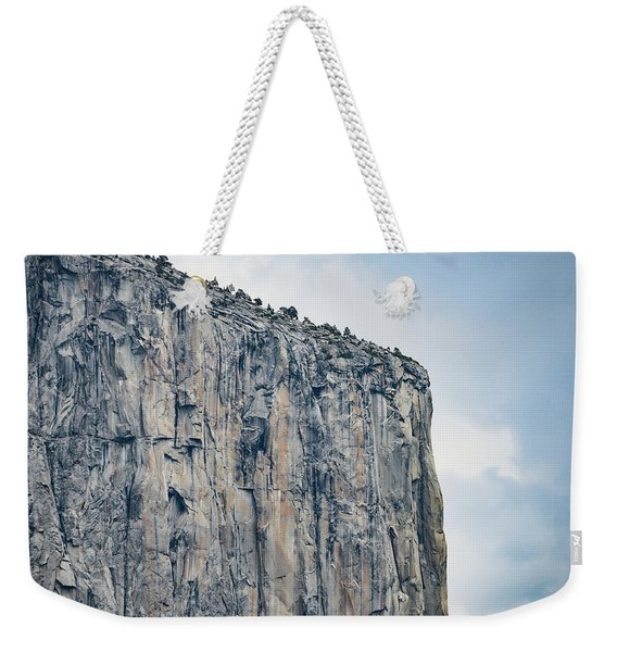 El Capitan Up Close And Personal From Tunnel View Yosemite Np Weekender Tote Bag