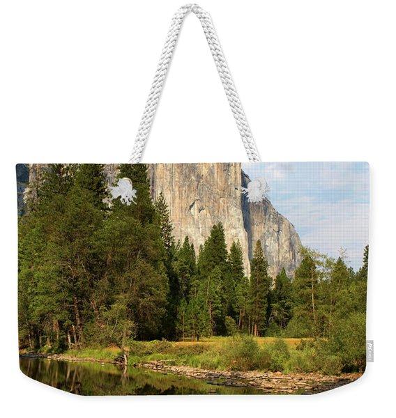 El Capitan Yosemite National Park California Weekender Tote Bag