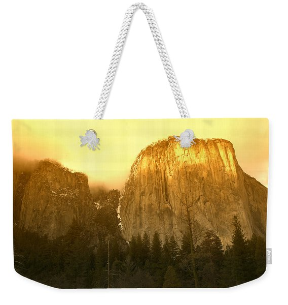 El Capitan Yosemite Valley Weekender Tote Bag