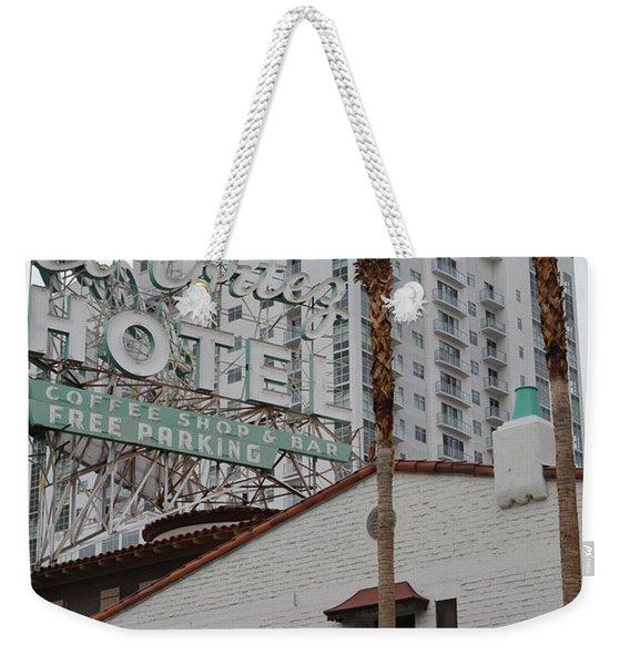El Cortez Hotel Las Vegas Weekender Tote Bag