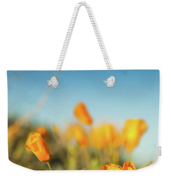 El Paso Poppies Weekender Tote Bag