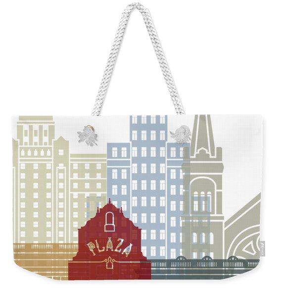 El Paso Skyline Poster Weekender Tote Bag