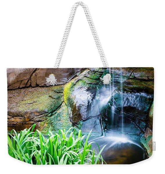 El Paso Zoo Waterfall Long Exposure Weekender Tote Bag