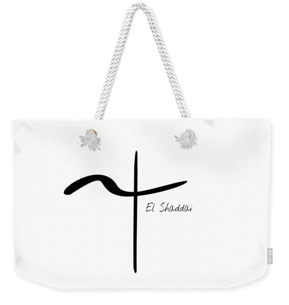 El Shaddai Weekender Tote Bag