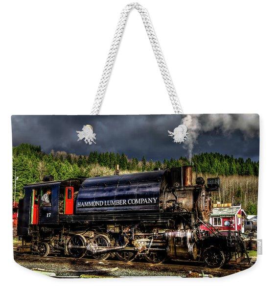 Elbe Steam Engine 17 Hdr 2  Weekender Tote Bag