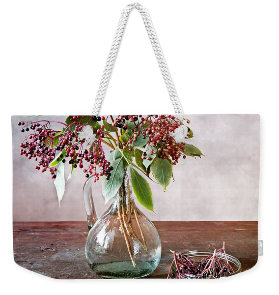 Elderberries 07 Weekender Tote Bag