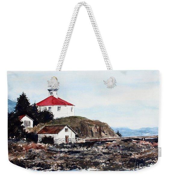 Eldred Rock Lighthouse Weekender Tote Bag