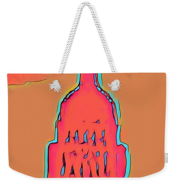 Electric Austin Weekender Tote Bag