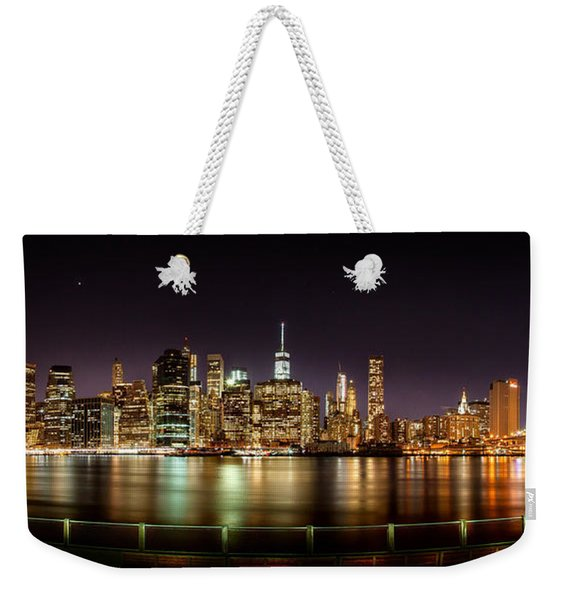 Electric City Weekender Tote Bag