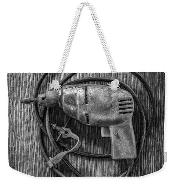 Electric Drill Motor Weekender Tote Bag