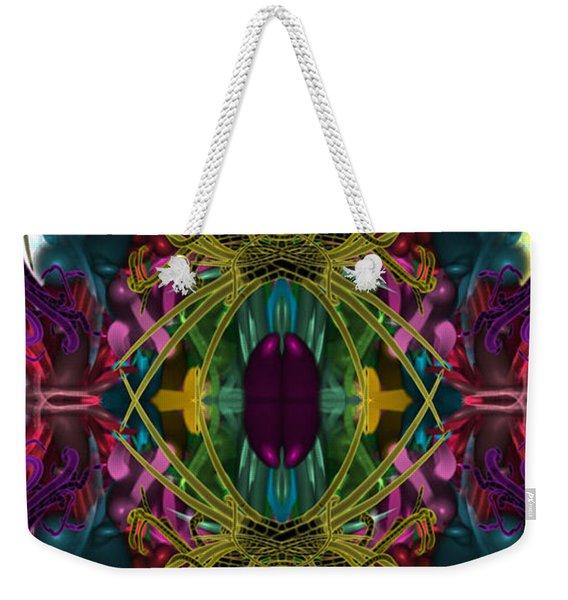 Electric Eye Weekender Tote Bag