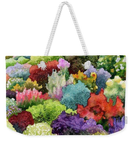 Electric Garden Weekender Tote Bag