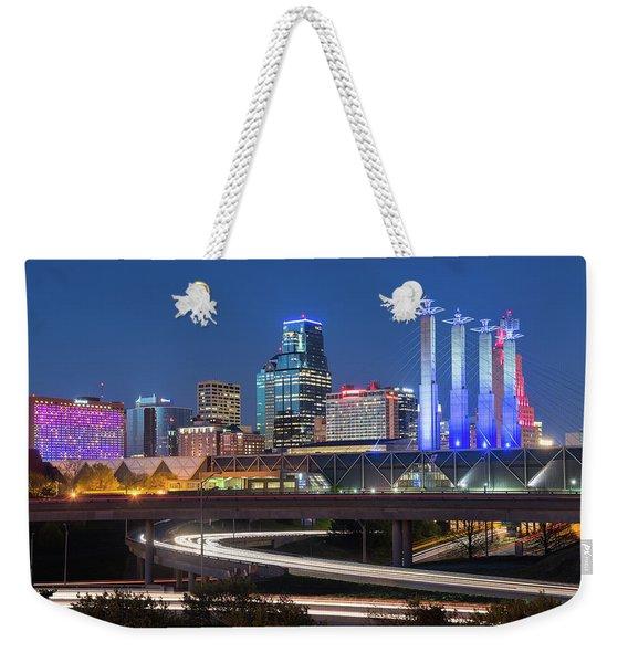 Electric Kc Weekender Tote Bag
