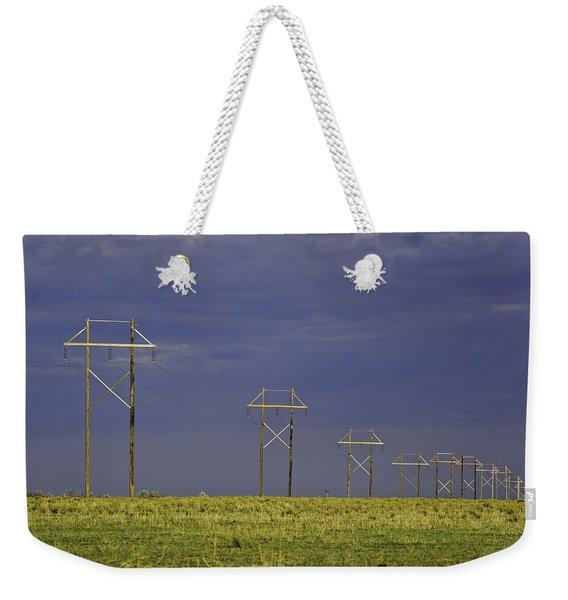 Electric Pasture Weekender Tote Bag