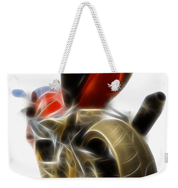 Electric Speed Weekender Tote Bag
