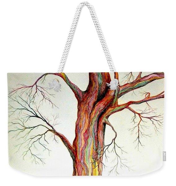 Electric Tree Weekender Tote Bag