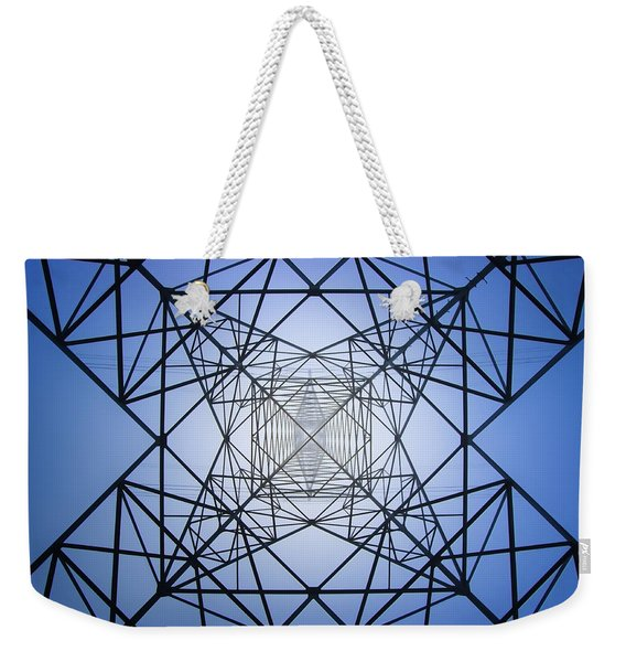 Electrical Symmetry Weekender Tote Bag