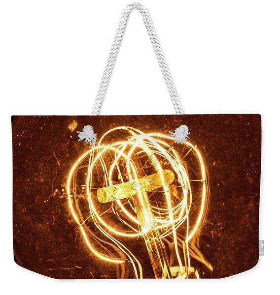 Electricity Through Tungsten Weekender Tote Bag