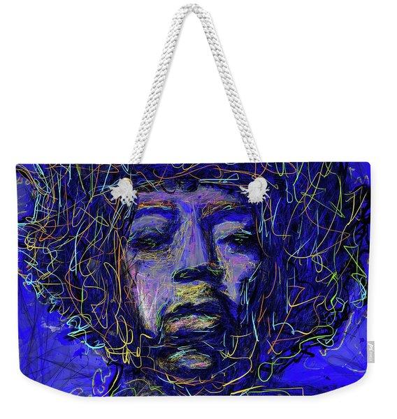 Electrifying Hendrix Weekender Tote Bag