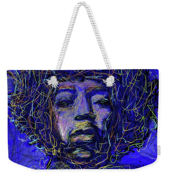 Electrifying Hendrix Weekender Tote Bag