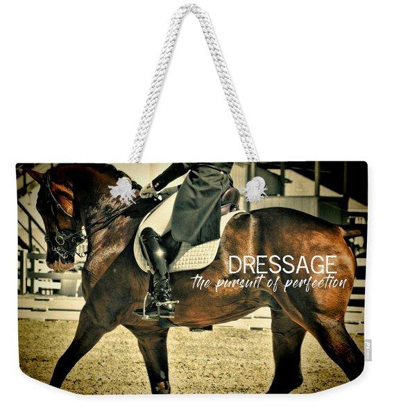Elegance Quote Weekender Tote Bag