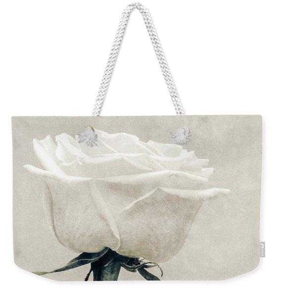 Elegance In White Weekender Tote Bag