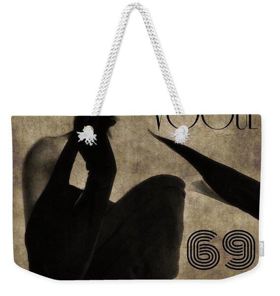 Elegant 69 Vogue  Weekender Tote Bag