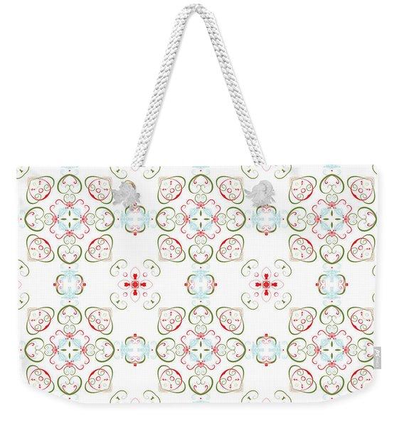 Elegant Christmas #02 Weekender Tote Bag