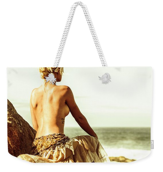 Elegant Classical Beauty  Weekender Tote Bag