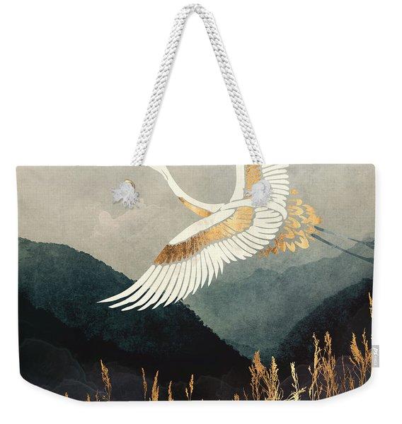 Elegant Flight Weekender Tote Bag