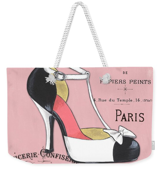 Elegant French Shoes 1 Weekender Tote Bag