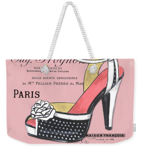 Elegant French Shoes 2 Weekender Tote Bag