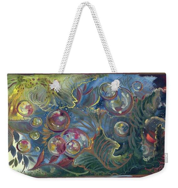 Elemental Bubbles Weekender Tote Bag