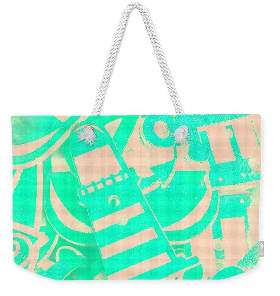 Elemental Coast Weekender Tote Bag