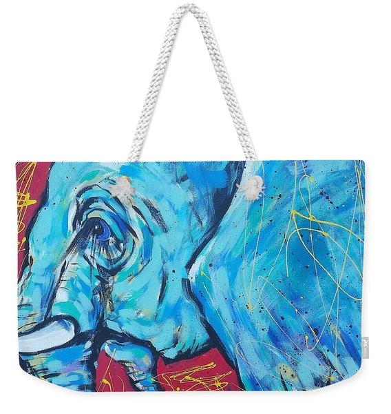 Elephant #4 Weekender Tote Bag