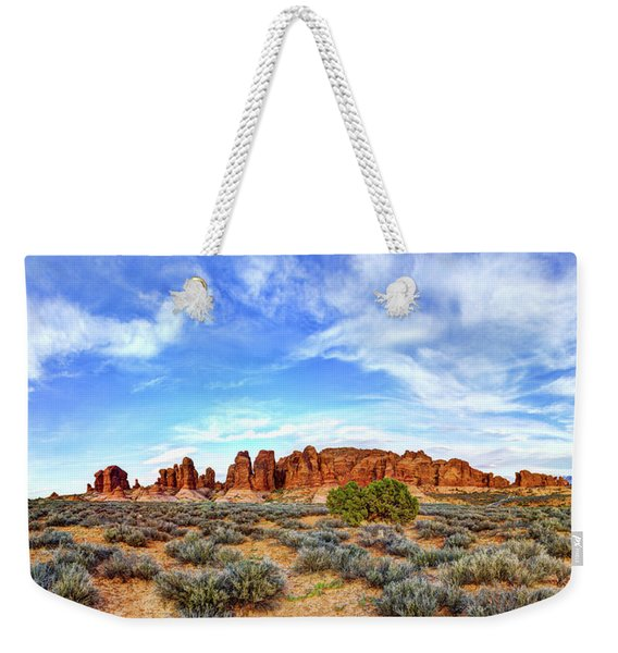 Elephant Butte Weekender Tote Bag