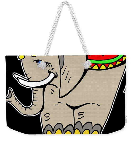 Elephant Life  Weekender Tote Bag