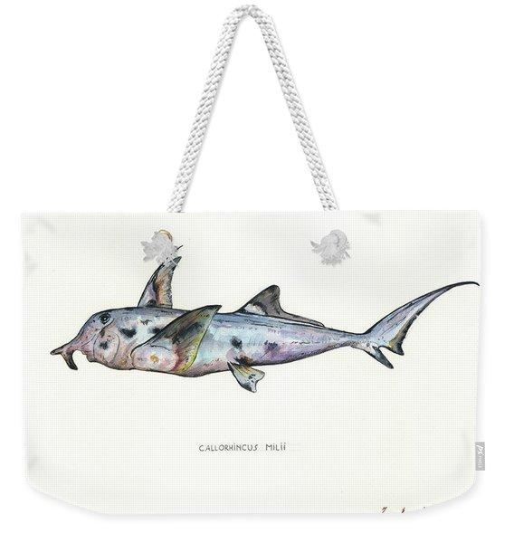 Elephant Shark Weekender Tote Bag