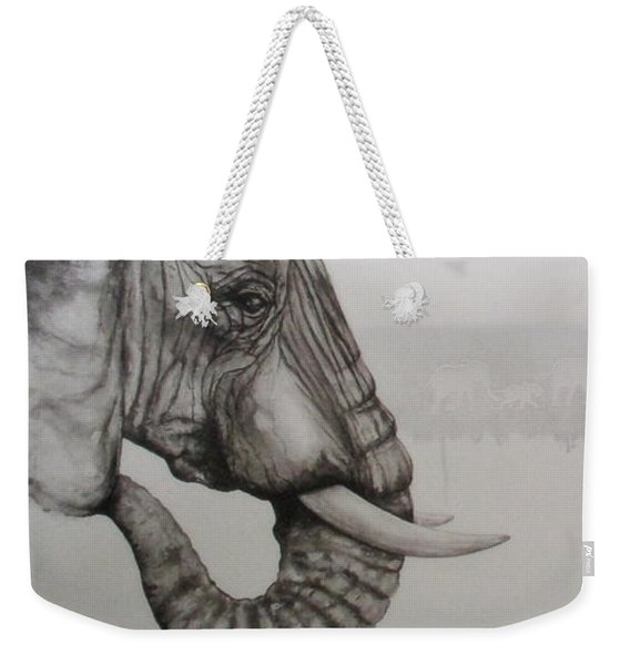 Elephant Tears Weekender Tote Bag