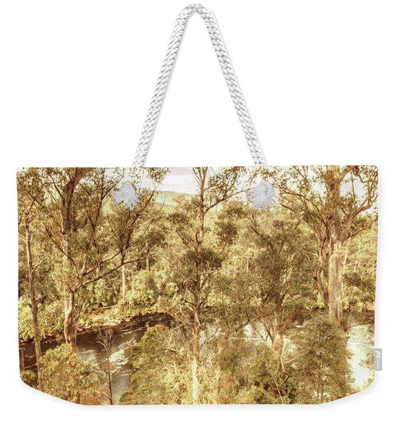 Elevated Country Weekender Tote Bag