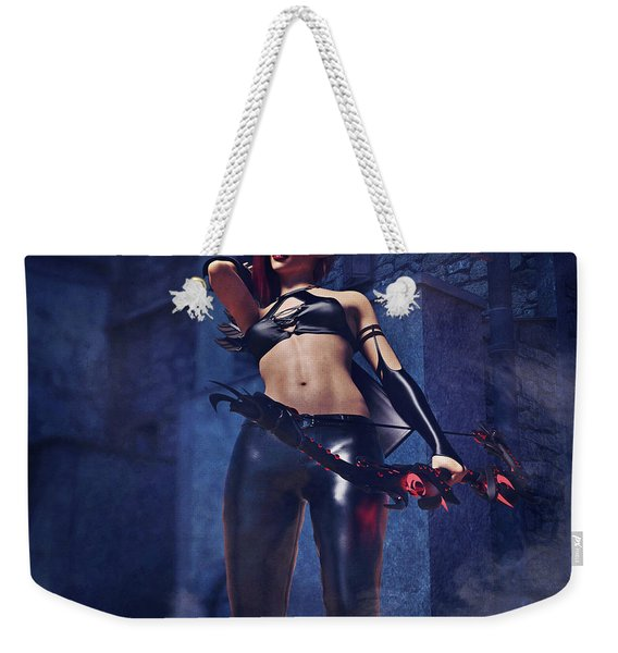 Elf Assassin Weekender Tote Bag