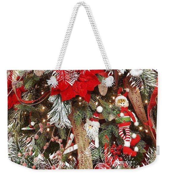 Elf In A Tree Weekender Tote Bag