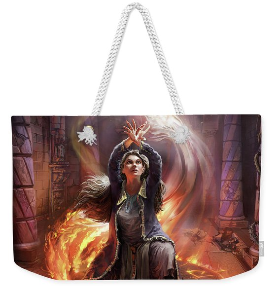 Elf Mage Weekender Tote Bag