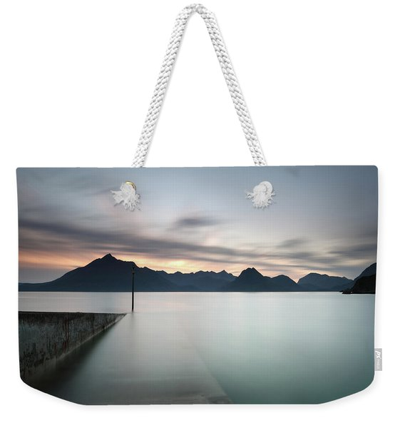 Elgol At Sunset Weekender Tote Bag