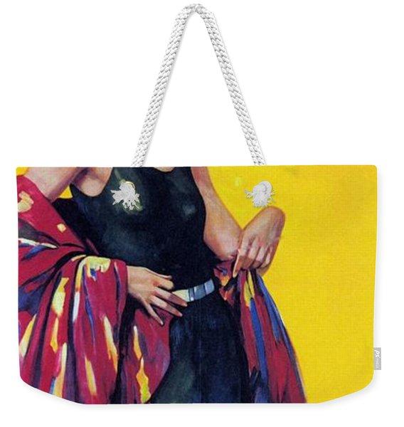 Elida Cremes In Sonne Und See - Woman In Swimsuit - Vintage Advertising Poster Weekender Tote Bag